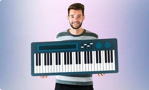 Klavierkurs ohne Noten