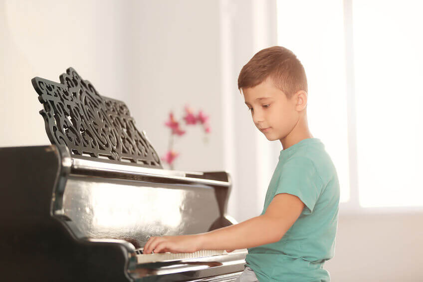 klavier lernen kinder